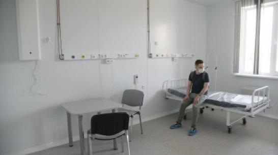 Почти на 25% сократился коечный фонд для COVID-пациентов в Воронежской области