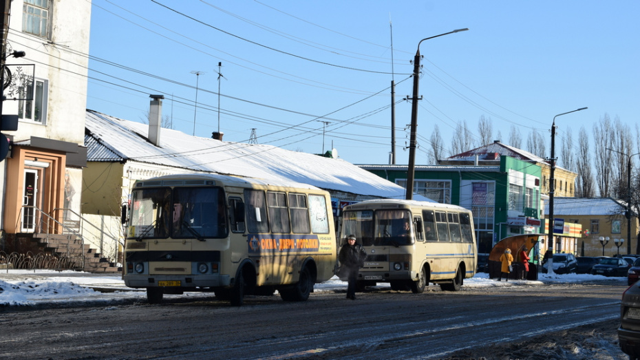 В Борисоглебске маршрут автобуса №10 продлили на 3 км