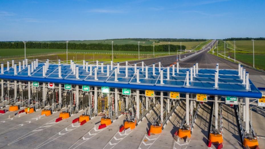 Новый участок обхода Лосево на М-4 в Воронежской области показали с высоты птичьего полета