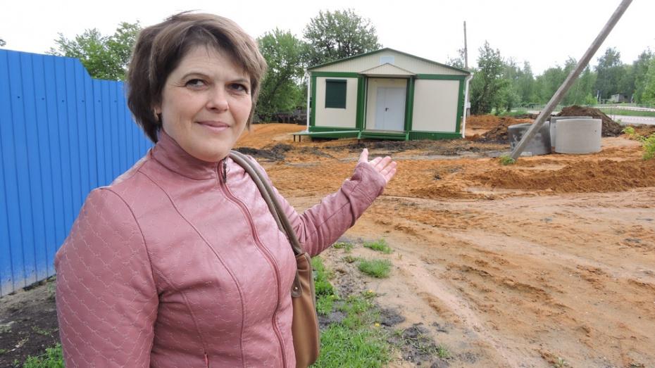 В кантемировском селе Гармашевка построили ФАП