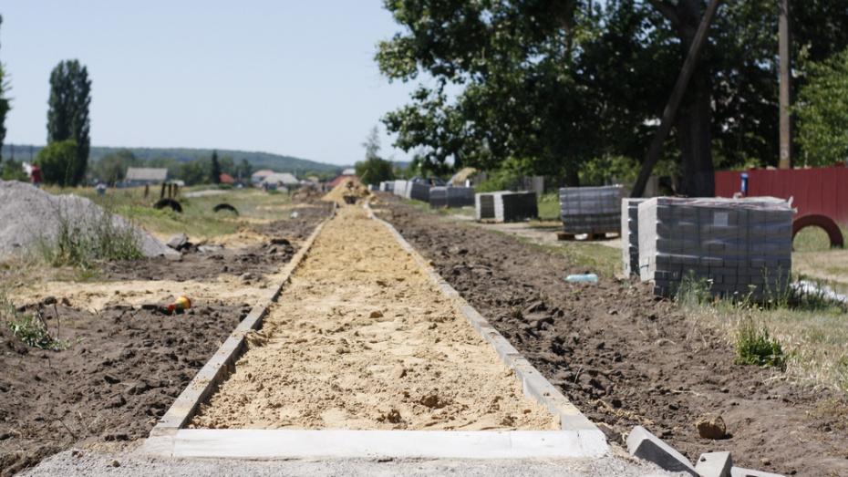 В аннинском селе Бродовое сделают тротуар за 3 млн рублей