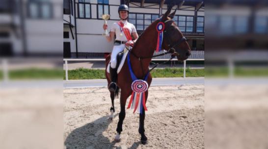 Павловчанка завоевала «золото» на всероссийских соревнованиях по конкуру