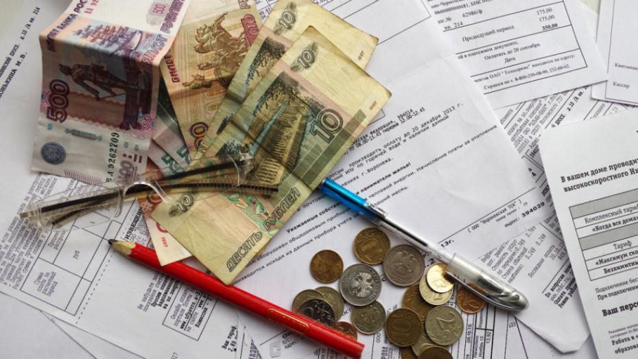 Коллекторы перестанут донимать воронежцев с задолженностями за ЖКХ