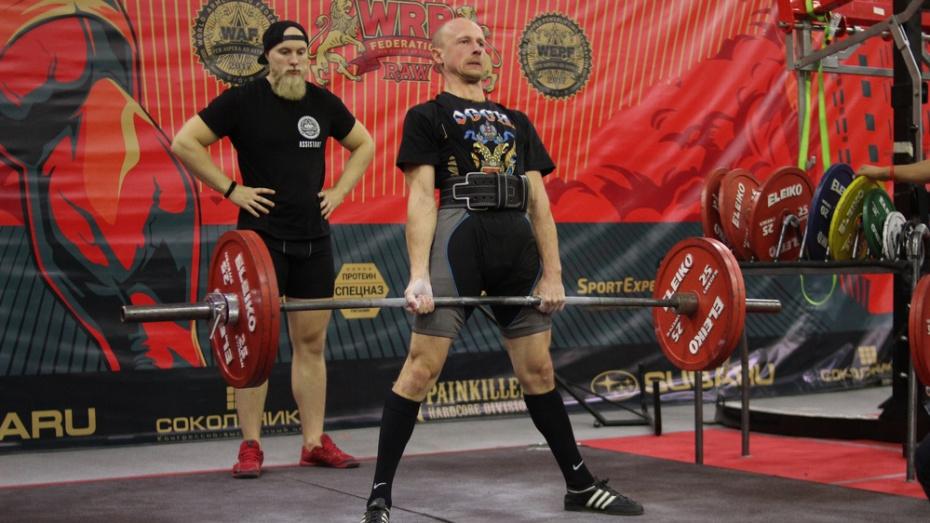 Хохольский спортсмен победил на чемпионате мира WRPF/WEPF/WAF