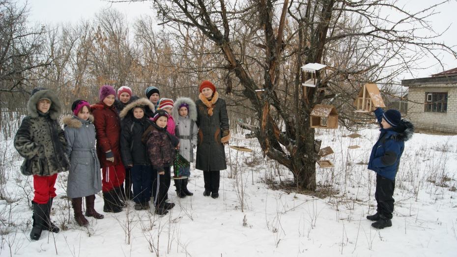 Воробьевские школьники присоединились к акции «Покорми птиц»