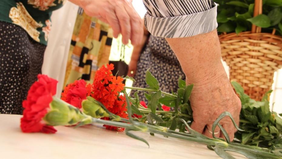 Новоусманцы почтили память погибших в годы войны в 4 часа утра