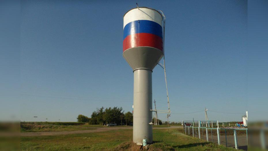 В подгоренском селе Андреевка активисты отремонтировали водонапорную башню