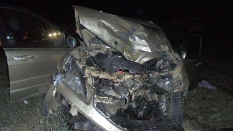 В Воронежской области произошла авария с 5 пострадавшими