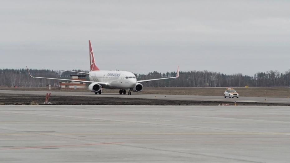 1-ый стабильный рейс изСтамбула приземлился вВоронеже