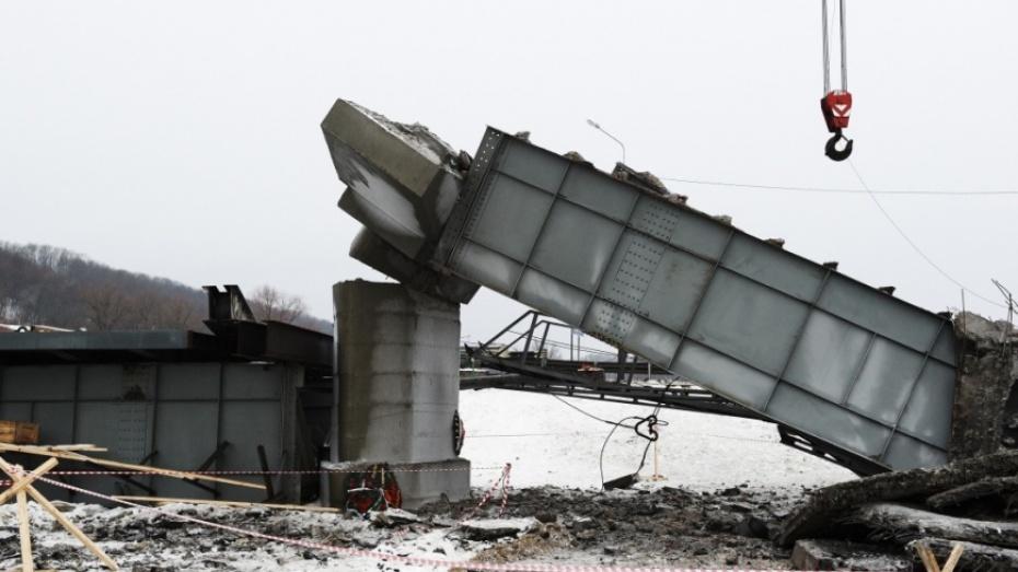 Эксперты выдвинули две версии причины обрушения моста в Борисоглебском районе