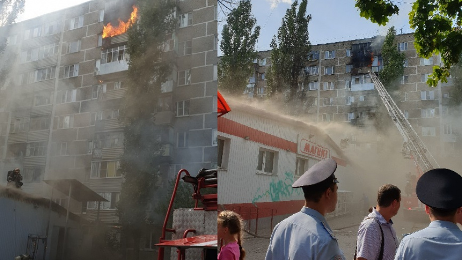 В Воронеже за 10 минут по одному адресу произошли 2 пожара