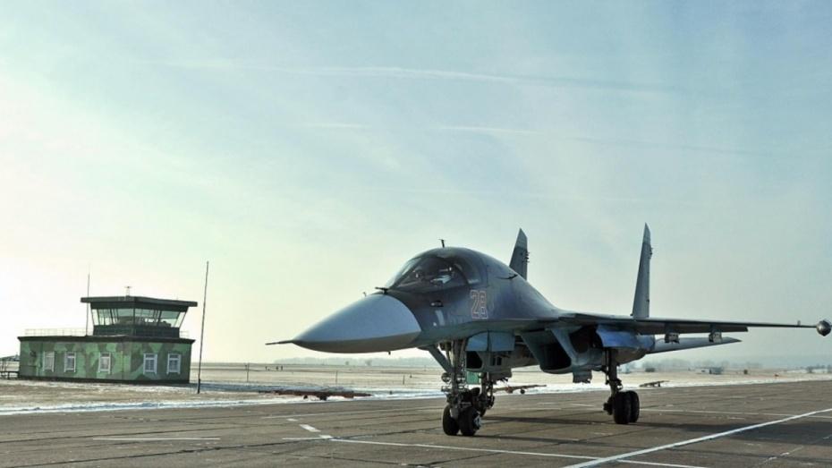 СМИ связали аварию Су-34 на воронежской авиабазе со слишком высокой скоростью посадки