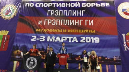 Воронежская спортсменка выиграла чемпионат России по грэпплингу