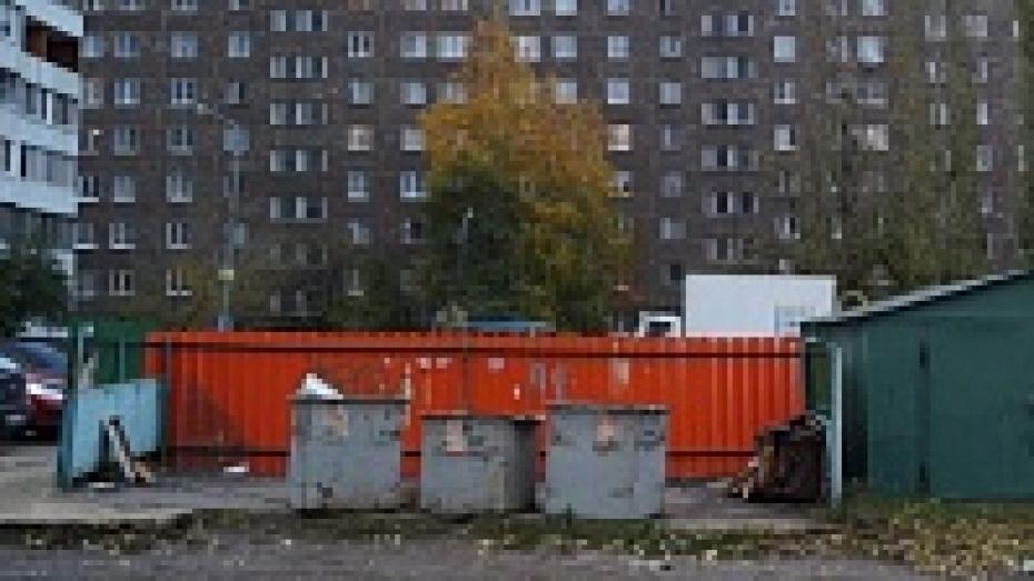 Глава Воронежа протестирует коммунальщиков по уборке контейнерных площадок