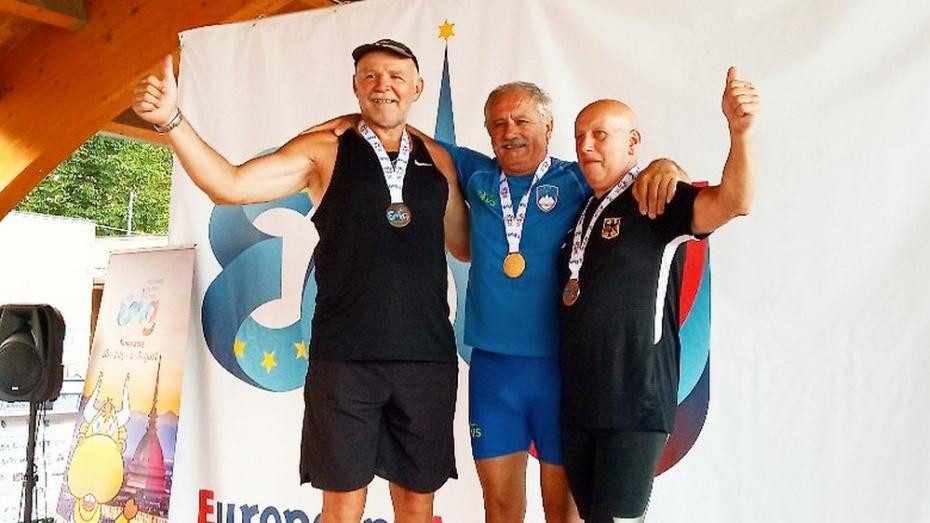 Павловский легкоатлет стал серебряным призером Европейских игр среди ветеранов