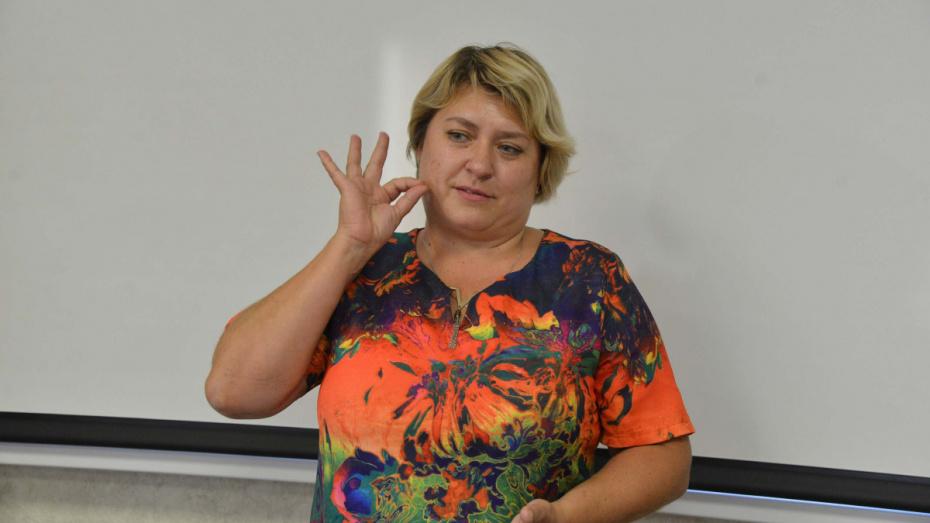 В Воронеже стартовал набор на бесплатные курсы русского жестового языка