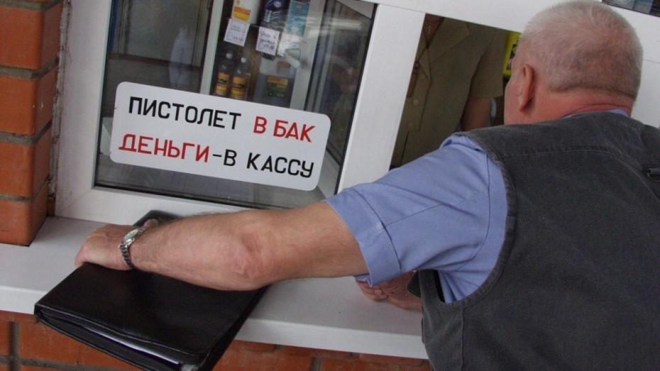 АЗС продавали печное топливо вместо дизельного на трассе М4 в Воронежской области