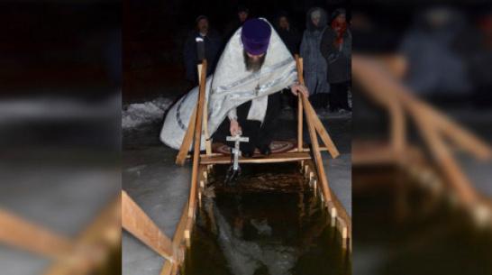 В Бутурлиновском районе для крещенских купаний сделают 7 прорубей и 1 искусственную купель