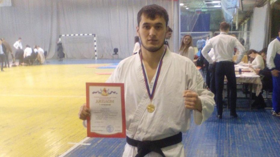Павловчанин победил в межрегиональном турнире боевых искусств