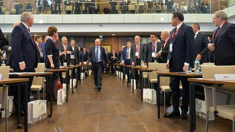 Губернатор Воронежской области принял участие в семинаре руководителей регионов России