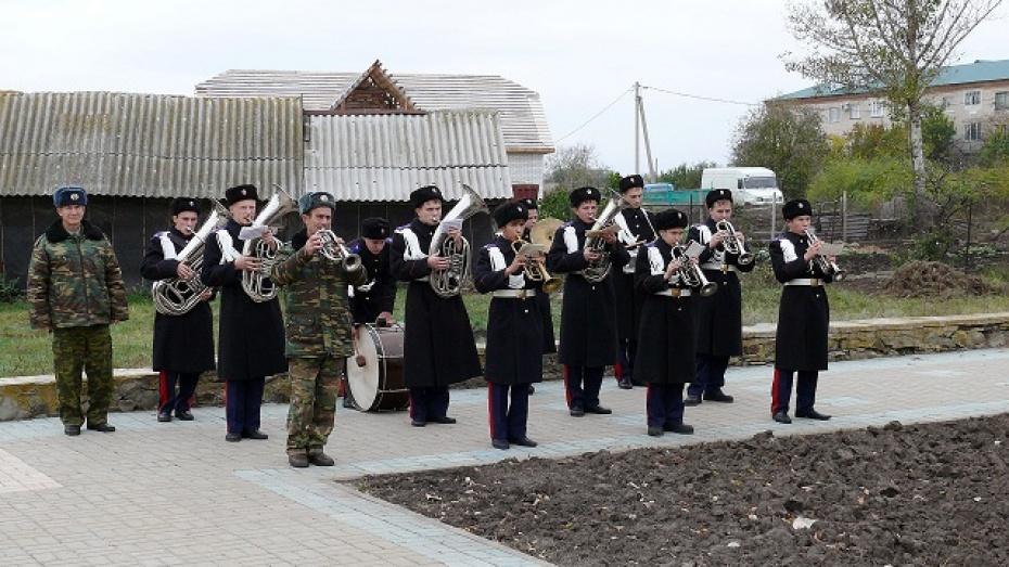 В Верхнемамонском районе кадеты создали вокально-инструментальный ансамбль