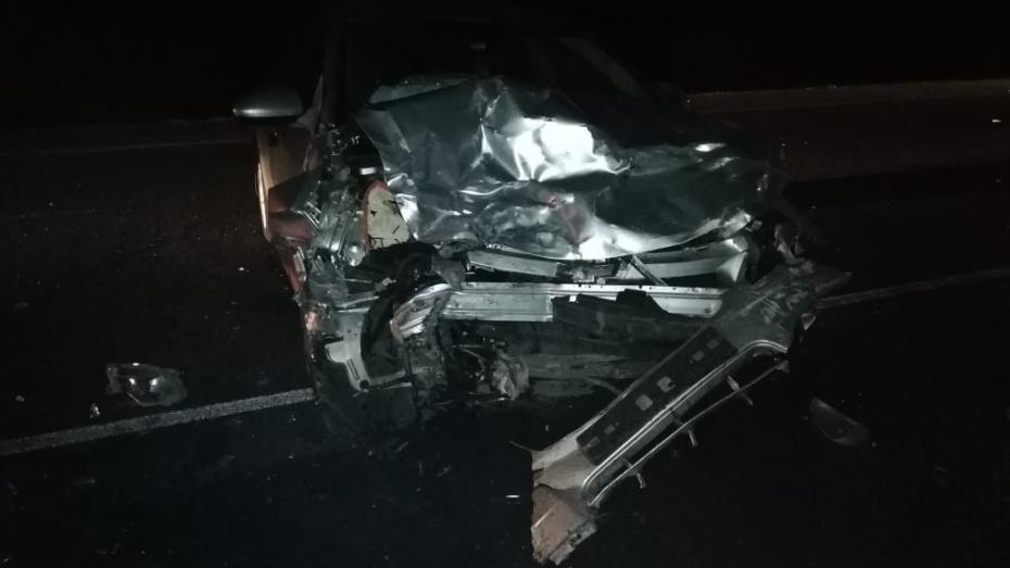 В Воронежской области в массовой аварии пострадали 3 человека
