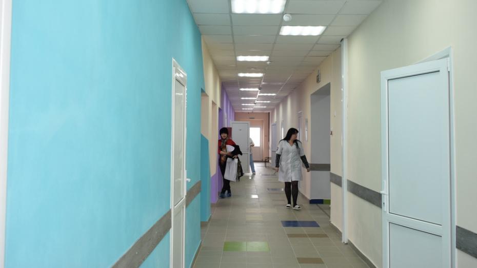 В Борисоглебске на ремонт и оборудование детской поликлиники потратили 27 млн рублей