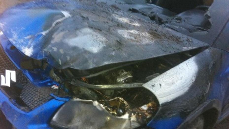 В Воронежской области угонщик Suzuki переломал себе ребра