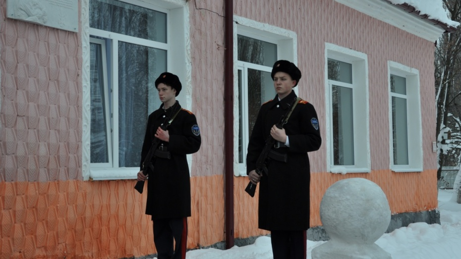 На помещении воронежской школы открыли мемориальную доску имени Дениса Налетова