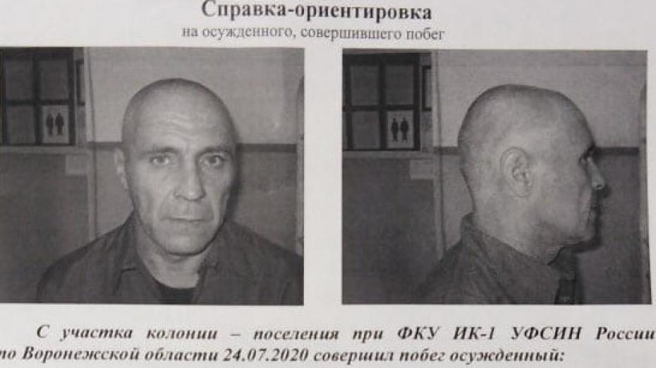 Из колонии под Воронежем сбежал рецидивист