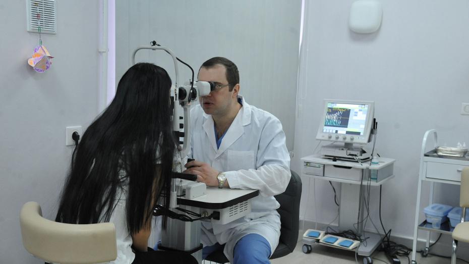 Воронежцы смогут получить консультацию офтальмолога по телефону