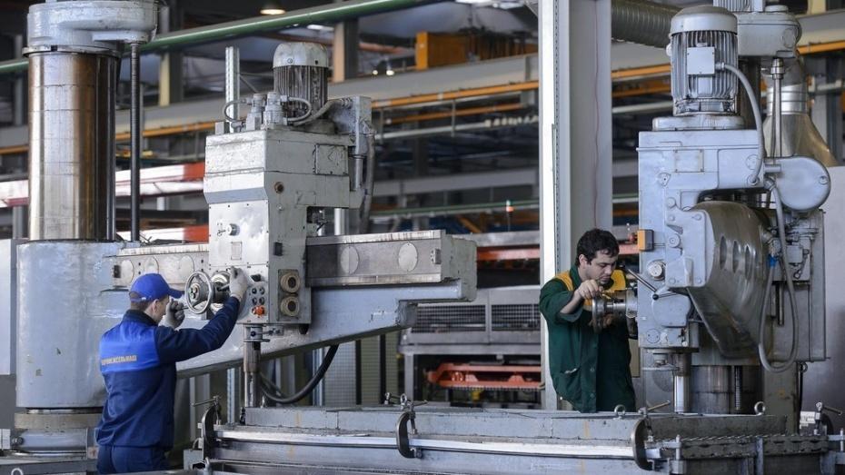 В Воронежской области индекс промпроизводства вырос на 4,8% за квартал
