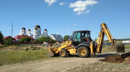 В лискинском селе Масловка построят информационный центр