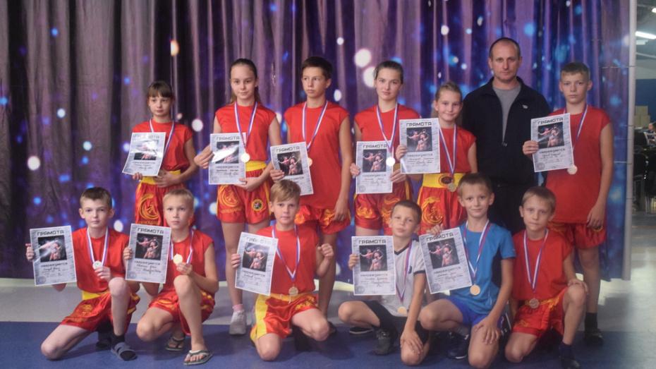 Подгоренские ушуисты завоевали 6 золотых медалей на первенстве Белгорода
