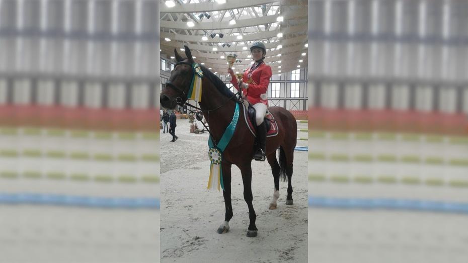 Павловчанка стала абсолютной чемпионкой всероссийских соревнований по конкуру в Москве