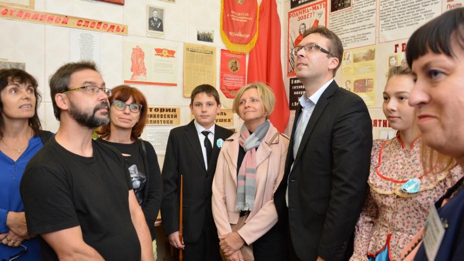 Педагоги из Чехии встретились с острогожскими школьниками