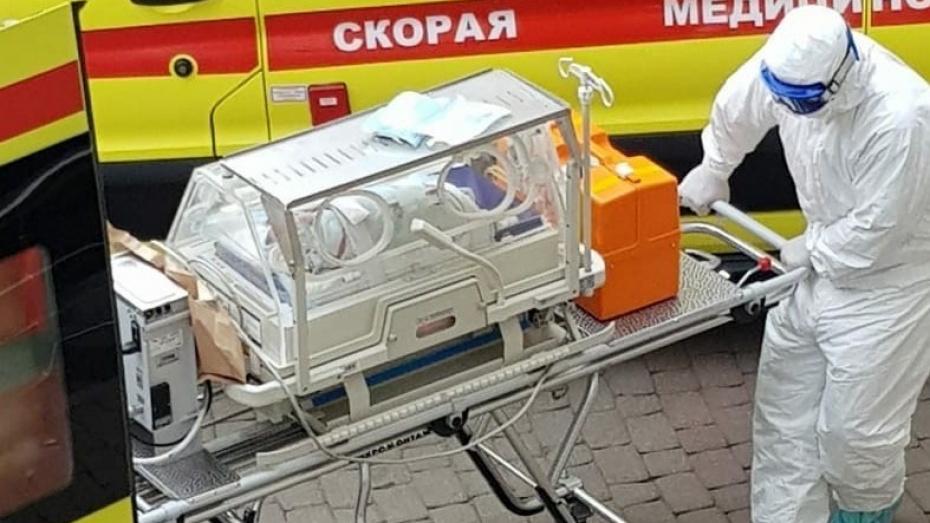 В «красной зоне» областной больницы Воронежа родился еще 1 ребенок