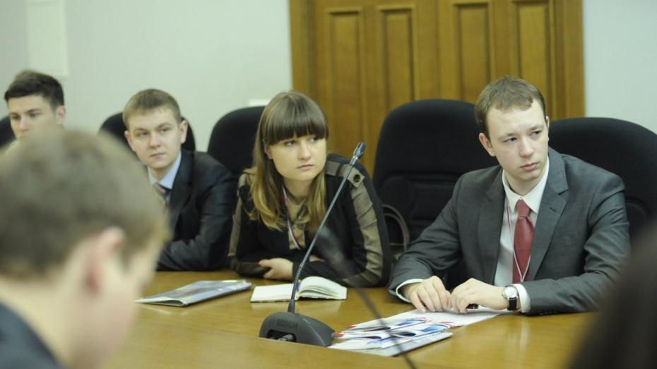 Молодежное правительство Воронежской области заняло второе место во всероссийском рейтинге