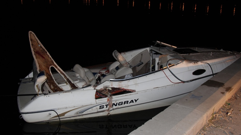 В аварии с двумя катерами на Воронежском водохранилище погиб человек