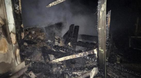 В нижнедевицком селе Нижнее Турово при пожаре погибла 93-летняя женщина