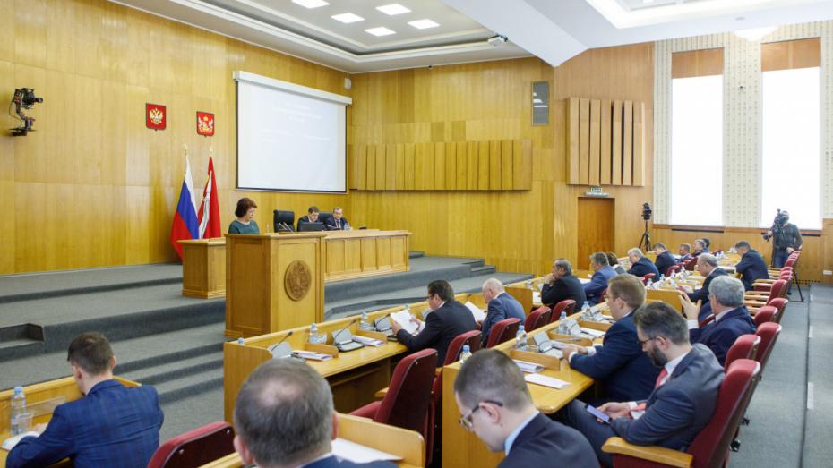Депутаты приняли первые поправки в бюджет Воронежской области на 2020 год