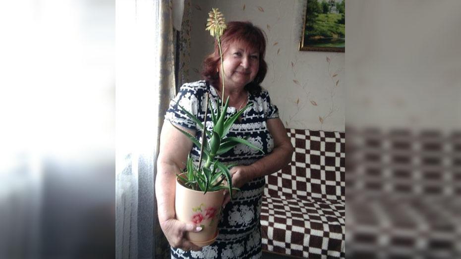 У жительницы Семилукского района впервые зацвел алоэ