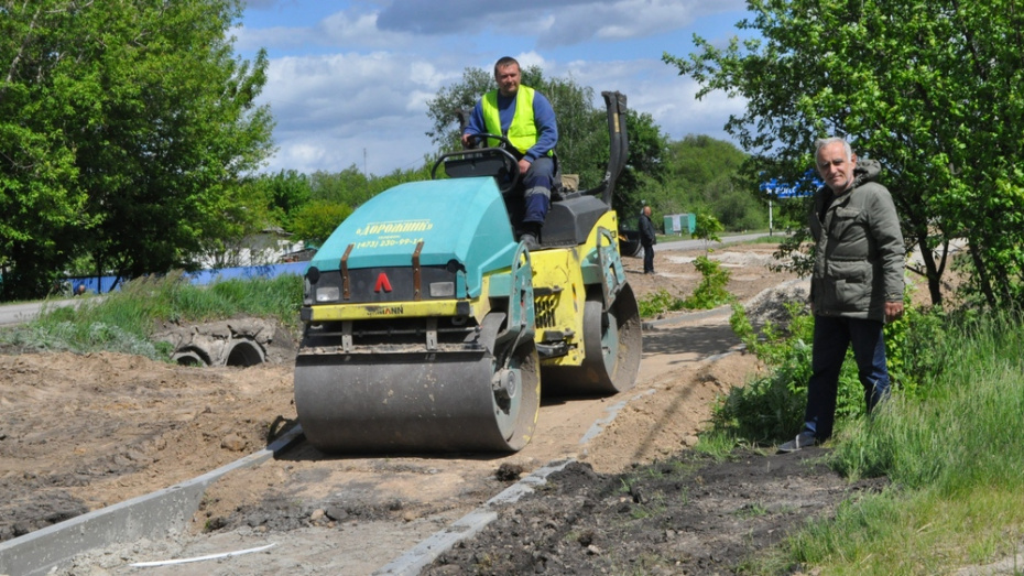 В эртильском селе Битюг-Матреновка построят тротуар за 21,5 млн рублей