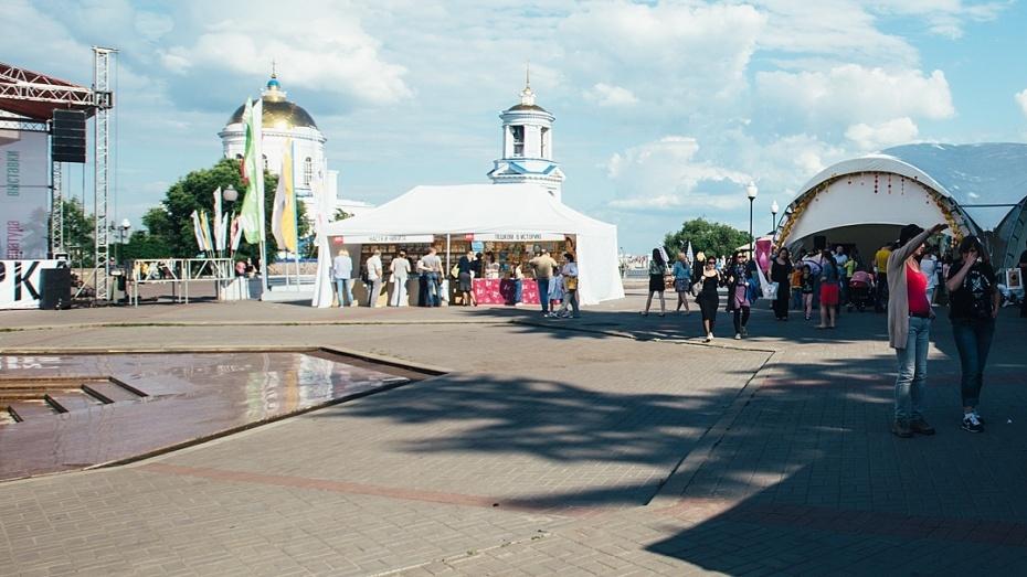 Воронежская Адмиралтейская площадь вполне может стать местом массового просмотра футбола врамкахЧМ