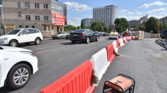 В Воронеже полностью перекроют движение по путепроводу у «Работницы» на 1,5 часа