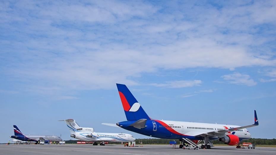Воронежский аэропорт устроит кодню города показательные полеты ивыставку авиации