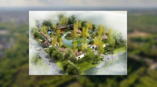 В Воронеже показали проект парка российско-китайской дружбы