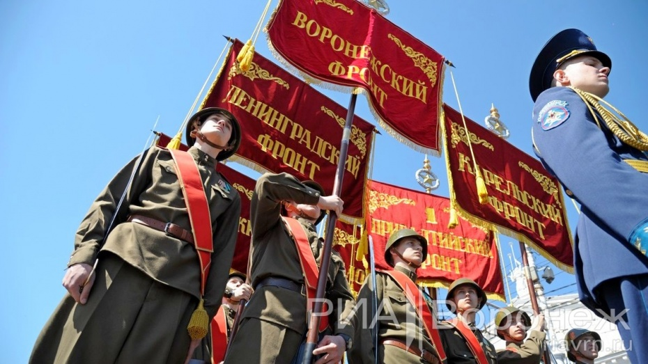 Губернатор и спикер облдумы поздравили воронежцев с Днем Победы