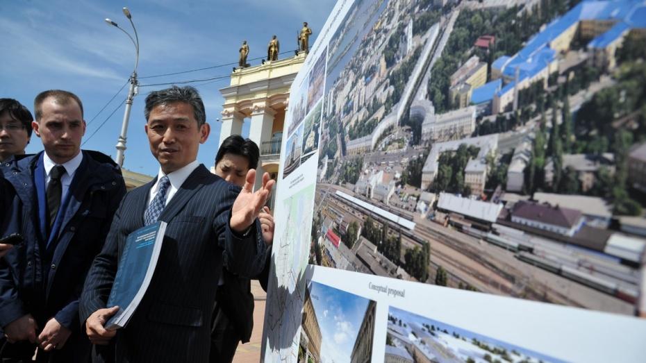 Две веточки воронежского метро изцентра города презентовала японская компания