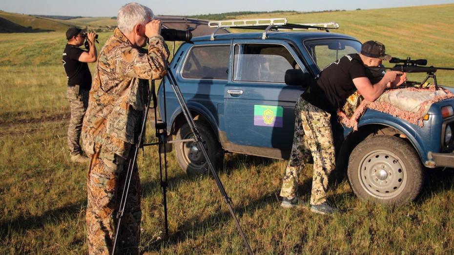 В Каменском районе сняли фильм об охоте на сурка-байбака
